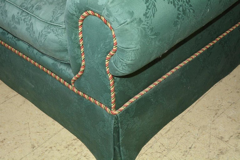 Custom English Style Rolled Arm Sofa For Sale 1