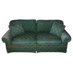 Custom English Style Rolled Arm Sofa