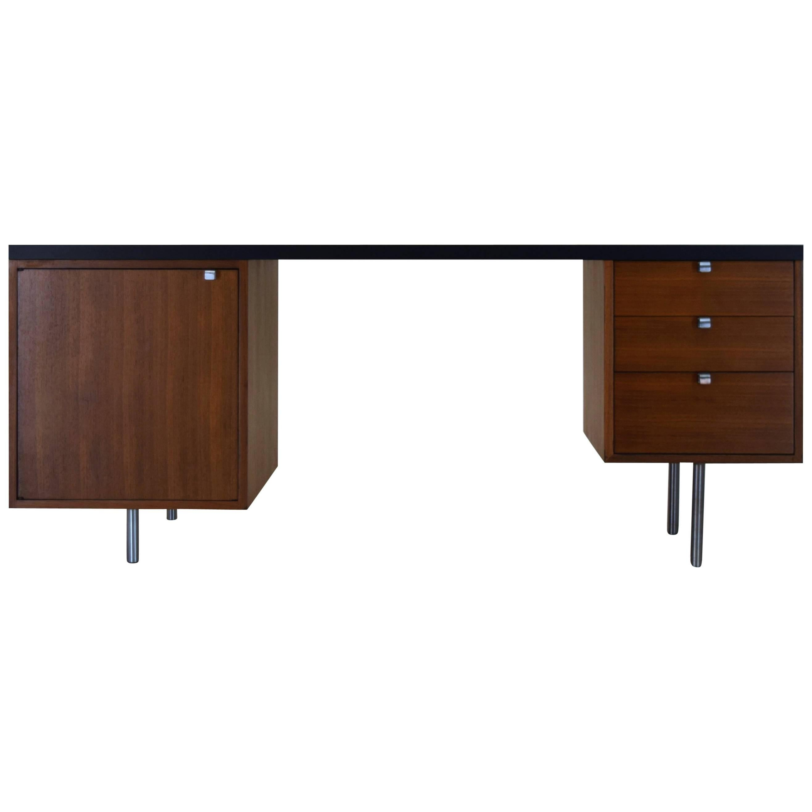 Custom Executive Desk George Nelson Associates For Herman Miller