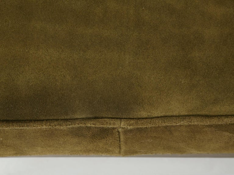 American Custom Handmade in Chicago Bronze Bench or Ottoman in Any Dimension or Finish For Sale