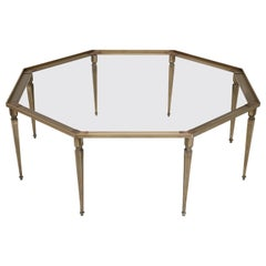 Custom Handmade French Louis XVI Inspired Bronze Coffee Table Base in Any Size