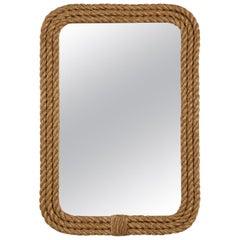 Custom Handmade Rope Border Rectangular Mirror Available in Any Dimension