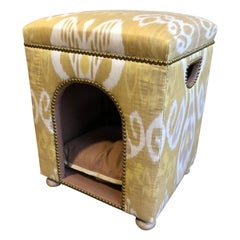 Custom Ikat Dog Bed