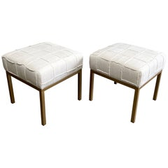 Fabric Ottomans and Poufs