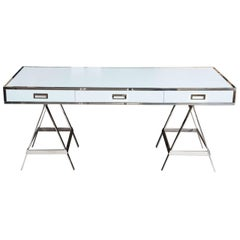 Custom Listing Part 1 - Albrizzi Trestle Desk New Larger Size
