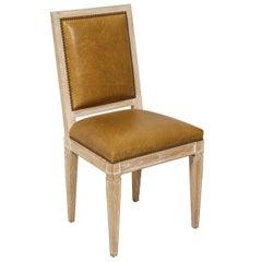 Custom Louis XVI Style Dining Chair