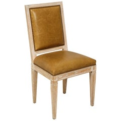 Custom Louis XVI Style Dining Chair