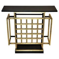 Custom Made Bronze Console Table
