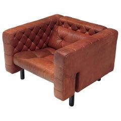 Custom Made Lounge Chair by Gianfranco Frattini