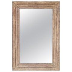 Custom Made Elegant Mirror Frame Comes from 19th Century British Plantation Home