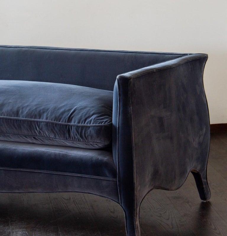 Contemporary Custom Made French Style Sofa