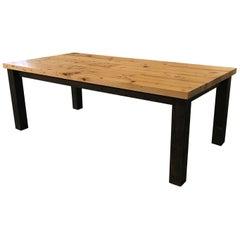 Custom Made Old Growth Hemlock Farm Table