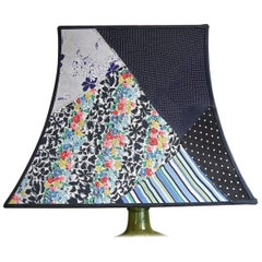Custom Made Silk Patchwork Vintage Pagoda Lampshade