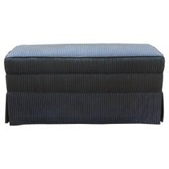 Custom Made Upholstered Ottoman