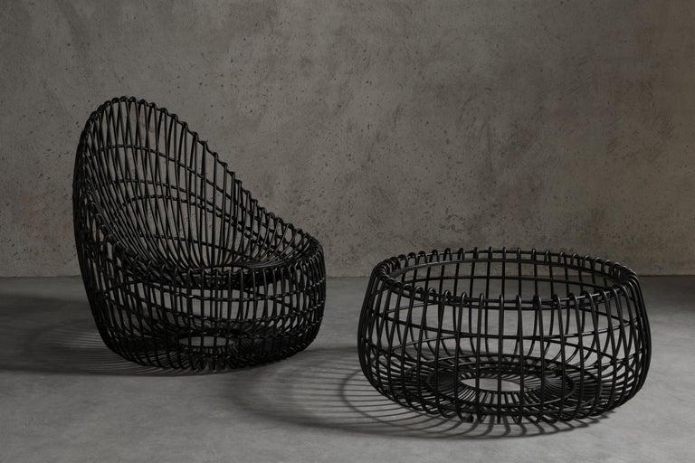 Custom Made Wrought Iron Chair 2