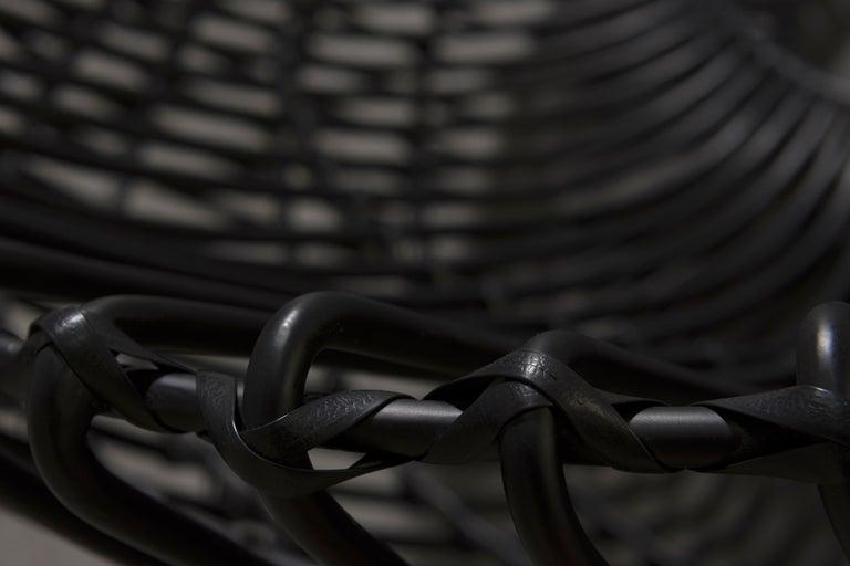Custom Made Wrought Iron Chair 4