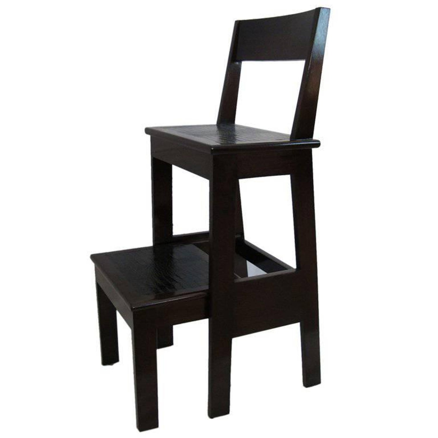 Prime Custom Mahogany And Leather Step Stool Ibusinesslaw Wood Chair Design Ideas Ibusinesslaworg
