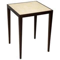 Custom Mahogany Table with Shagreen Top