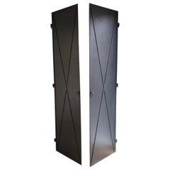Custom Metal Armoire or Closet Doors