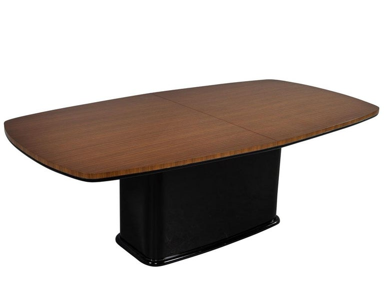 Custom Mid-Century Modern Inspired Dining Table by Carrocel For Sale 4