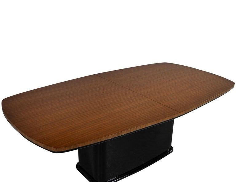 Custom Mid-Century Modern Inspired Dining Table by Carrocel For Sale 5