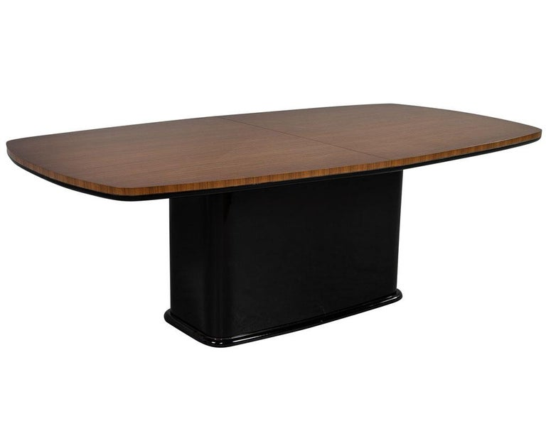 Custom Mid-Century Modern Inspired Dining Table by Carrocel For Sale 7