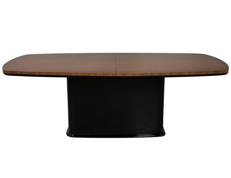 Custom Mid-Century Modern Inspired Dining Table by Carrocel For Sale 9
