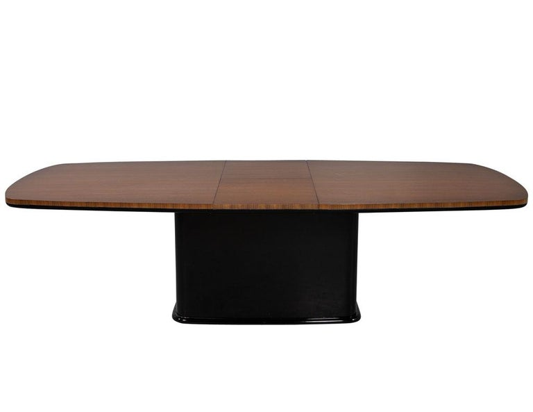 Canadian Custom Mid-Century Modern Inspired Dining Table by Carrocel For Sale