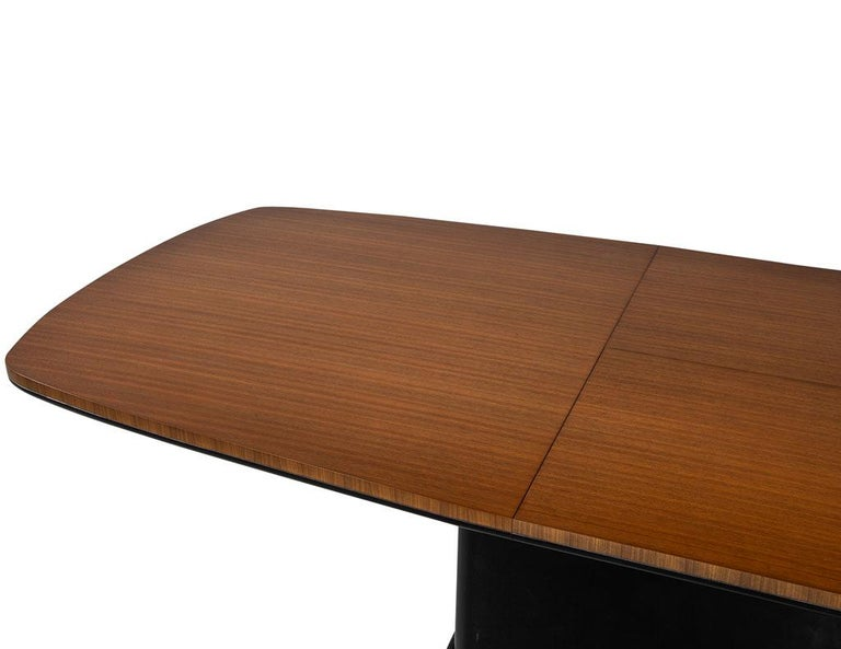 Contemporary Custom Mid-Century Modern Inspired Dining Table by Carrocel For Sale