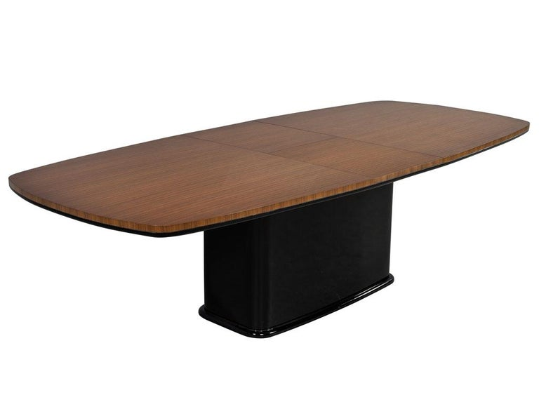 Custom Mid-Century Modern Inspired Dining Table by Carrocel For Sale 1
