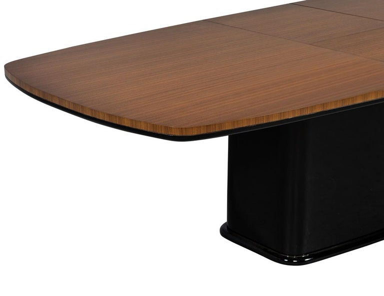Custom Mid-Century Modern Inspired Dining Table by Carrocel For Sale 2