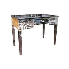 Custom Mirrored Writing Desk