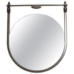 Custom Moana Mirror with Hand Carved Hound Heads