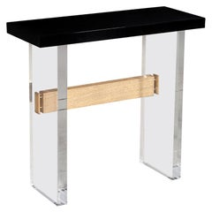 Custom Modern Acrylic Console Table by Carrocel