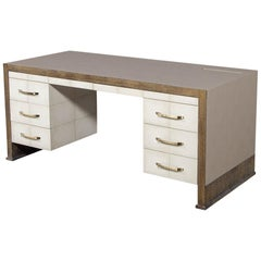 Custom Modern Executive Desk
