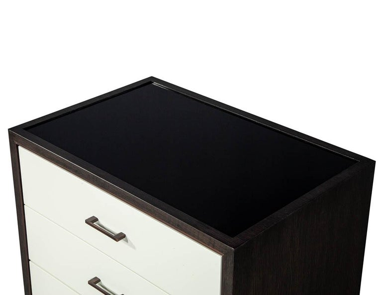 Custom Modern Nightstands End Tables by Carrocel For Sale 4