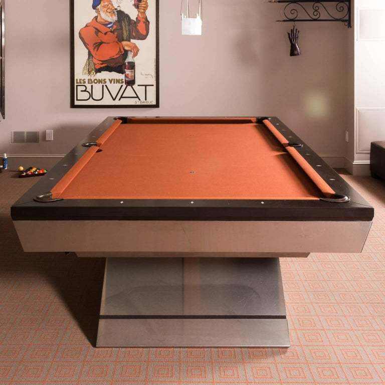 Contemporary Custom Monarch Pool Table For Sale