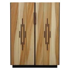 Custom Norm Stoeker Danish Style Four Shelf Storage Cabinet