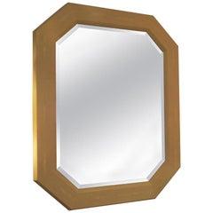 Custom Octagonal Shagreen Mirror