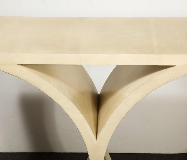 Custom Parchment O-Console For Sale 3