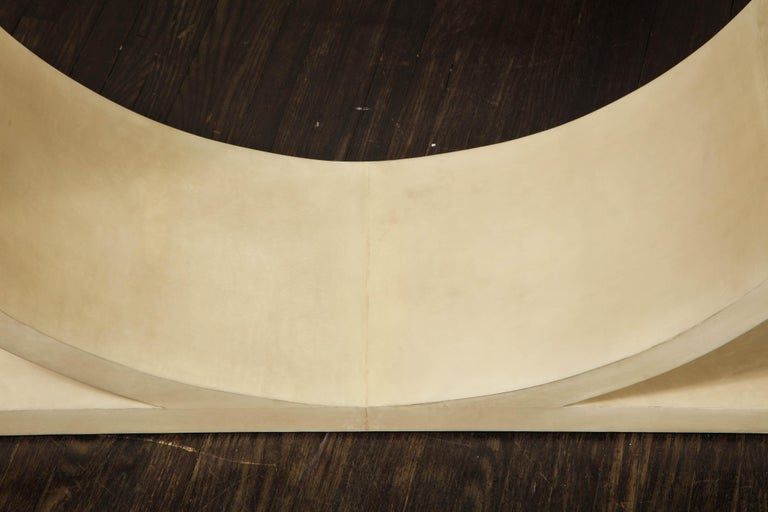 Custom Parchment O-Console For Sale 2