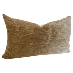 Custom Pillow Cut from a Vintage Hand Loomed Hemp and Linen German Grain Sack