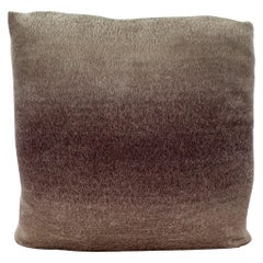 Custom Pillow with Schumacher Mohair Velvet