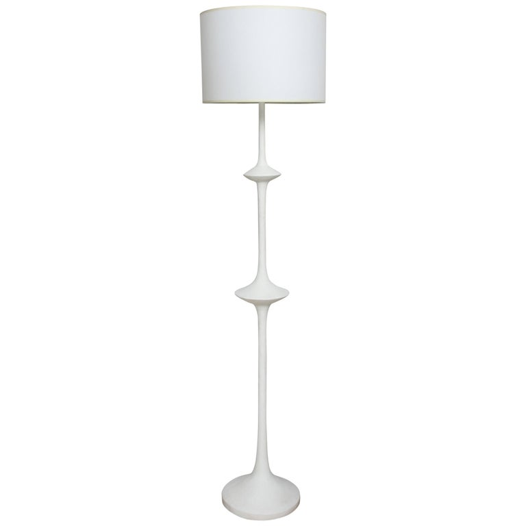 Custom Plaster Fixture in the Giacometti Manner For Sale