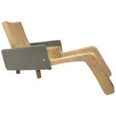 Custom Plywood Lounge Chair