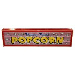 Custom Popcorn Light Up Sign