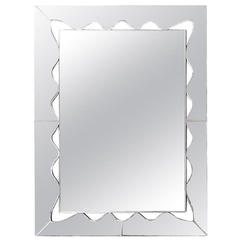 Custom Rectangle Wave Mirror