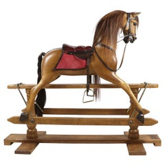 Custom Rocking Horse by Stevenson Brothers Appointed by Queen Elizabeth II