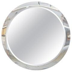Custom Made Round Double Beveled Mirror