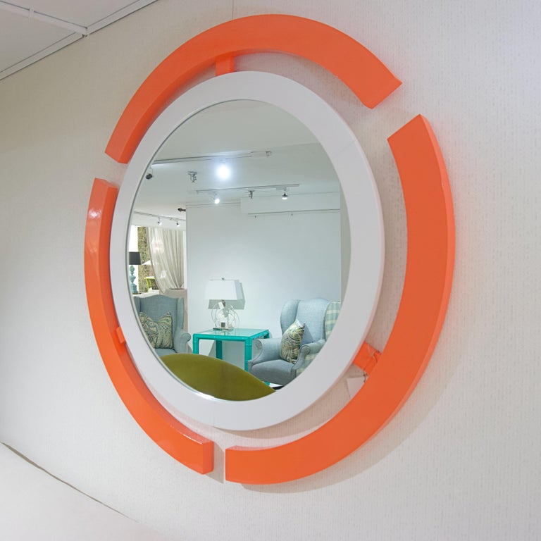 Custom Round Wall Mirror